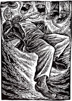 Elizabeth Catlett, 1946. And a Special Fear for My Loved Ones, from the I am the Negro Woman series.
