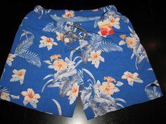 Tommy Bahama New Barefoot Cobalt Swim Suit Trunks L Large 34-36 waist TR99188 #TommyBahama #Trunks