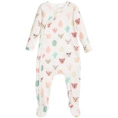 Baby Girls Animal Print Cotton Babygrow, Little Marc Jacobs, Girl