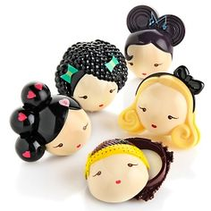 Harajuku Lovers Solid Perfume 5-piece Coffret Set at HSN.com.