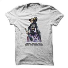Ada Lovelace Portret - #shirts! #tshirt recycle. ORDER NOW => https://www.sunfrog.com/Geek-Tech/Ada-Lovelace-Portret.html?68278