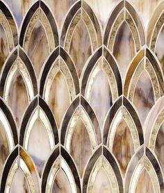 Quick Overview: This series features unique and captivating designs combined with stunning stained glass to create an utmost level of sophistication. Indulge in the style and elegance of this glass ti Art Deco Tiles, Art Deco Bathroom, Mosaic Glass, Glass Art, Stained Glass, Glass Lamps, Arte Art Deco, Style Tile, Art Nouveau