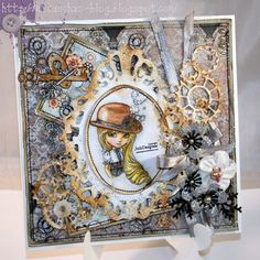 Again a lovely Steampunk card