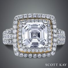 #ScottKay #engagementrings #weddingrings www.scottkay.com | www.goldcasters.com