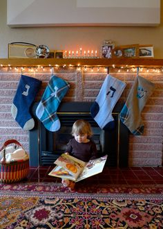 Hanukkah Stockings! from Jewitup.com