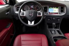 #sleek #interior #dodge #challenger