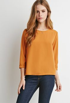 Boxy Blouse - Shop All - 2000184475 - Forever 21 EU