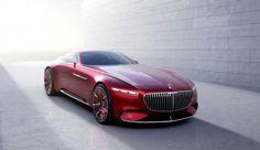 Malgré sa calandre imposante, le concept Vision Mercedes-Maybach 6 est un bolide 100% électrique. Grâce à ses quatre moteurs placés dans les roues, il peut atteindre 250 km/h.