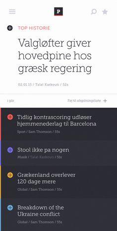 Audio news app 01