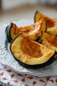 Roasted Acorn Squash with Smoked Paprika