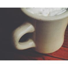 I love my coffee.   instagram.com/alexandriajoy  #coffee #cup #vsco #instagram #photography #canon