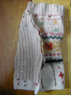 How to Make a Recycled Dog Sweater - CraftStylish