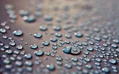 Drops, Surface, Water, Liquid, Nature