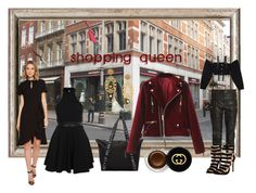 """""""shopping queen"""" by snowmoon ❤ liked on Polyvore featuring Nanette Lepore, Gucci, Chloé, County Of Milan, M.Y.O.B. and Dolce&Gabbana"""