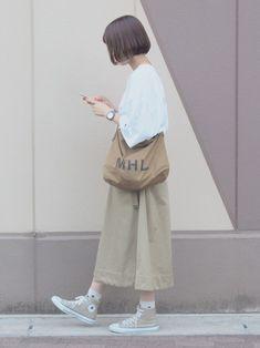 Mega Fashion, Japan Fashion, Korean Fashion, Girl Fashion, Modest Fashion, Hijab Fashion, Fashion Outfits, Converse Bleu, Pretty Outfits