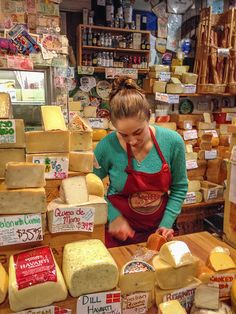 Did you know that Monterey Jack cheese was invented in Monterey, California? One of the many things I learned at The Cheese Shop in Carmel, CA.