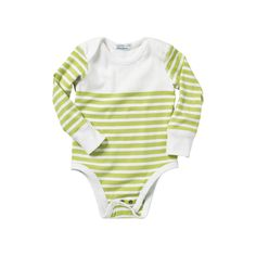 Hanna Andersson Nautical Stripe Bodysuit
