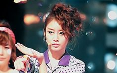 Photo of Ji Yeon for fans of T-ARA (Tiara). JiYeon's lovely  picture on Roly poly ทรงผมเก๋ๆของ T-ara