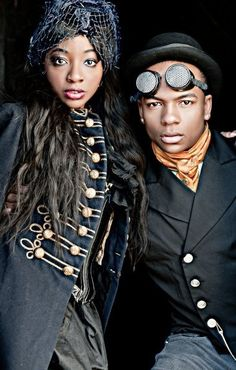 UnCONventional Gatherings: Steampunk, Science Fiction and Fantasy Conventions and Conferences that target Black People!
