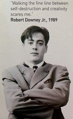 Young Robert Downey Jr