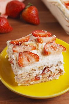 Strawberry Shortcake Lasagna