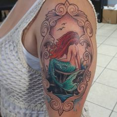55 Beautiful Examples of Mermaid Tattoos