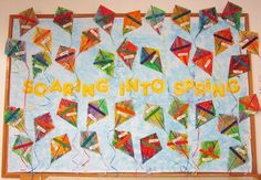 Classroom Compulsion: Another Giveaway and Spring Bulletin Boards