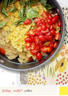 one pot pasta… really?! #virr #yellow #feeling #really #pasta #onepot #bleah