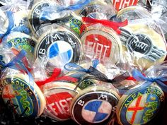 Cookies at a Car Party. Of course the Mini Cooper cookies are my fave! Car Themed Wedding, Car Themed Parties, 10th Birthday Parties, 40th Birthday, Birthday Party Themes, 21st Party, Hot Wheels Birthday, Race Car Birthday, Race Car Party