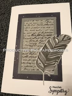 Personalized Cards, Sympathy Cards, Simple, Personalised Cards, Greeting & Note Cards