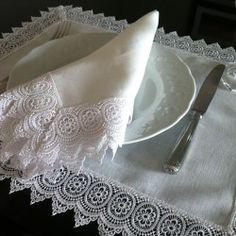 Back in Stock - Michelle Table Decor Napkins, Table Decorations, Kitchen, Diy, Women, Nova, Corner, Crochet, Cotton Napkins