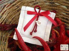 Sacchetti porta confetti per Laurea - modello: Triennale - Officina dei Ricami