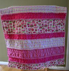 DIY- Baby gift idea-Flannel Rag Quilt