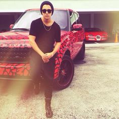 Austin and his Range Rover