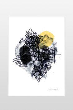 Ellos Home Poster Map 50x70 cm