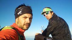Eduardo López @eduardolreig y Marce Díaz @marcediaz76, equipo para reto Faro a Faro, travesía de Tenerife por la ruta más larga en modalidad non-stop