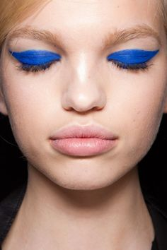 painted blue eyes