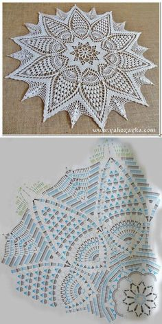 Free Crochet Doilies diagram Strategies Bonito y sencillo centro de ganchillo. – Wzory – Hottest Free Crochet Doilies diagram Strategies Bonito y sencillo centro de ganchillo. Motif Mandala Crochet, Free Crochet Doily Patterns, Crochet Doily Diagram, Crochet Circles, Crochet Chart, Crochet Designs, Free Pattern, Doily Rug, Rug Patterns