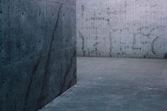 concrete grey naoshima japan