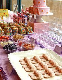 .Oh Sugar Events: Pajama Party  Parfait bar
