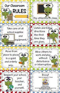 kindergraten class frog theme | Sailing Through 1st Grade: Follower Request