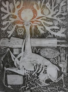 János Kass: Cantata Profana Teaching Literature, Stamp Collecting, Budapest, Painters, Illustrator, Creativity, Graphic Design, Gallery, Artist