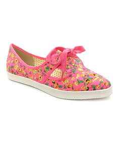 Another great find on #zulily! Pink Yvette Sneaker by B.A.I.T. #zulilyfinds