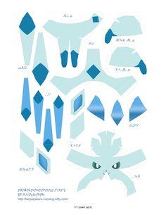 Eeveelutions Papercraft - Imgur