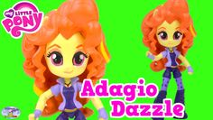 My Little Pony Equestria Girls Minis Adagio Dazzle Doll Custom Surprise ...