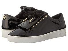 MICHAEL Michael Kors Keaton Kiltie Sneaker Black Patent - Zappos.com Free Shipping BOTH Ways