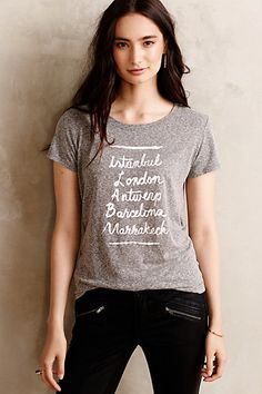 afternoon abroad tee #anthrofave #sale