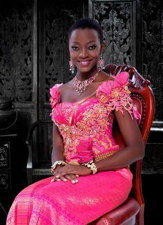 Miss World ~African fashion, Ankara, Kente, kitenge, African women dresses, African prints, African men's fashion, Nigerian style, Ghanaian fashion ~DKK