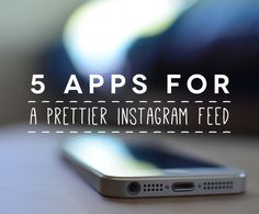 Need to jazz up your Instagram feed and dress her in her Sunday best? Well here are just a few great apps that can help you with that! Most are free or 99C! Such a bargain. VSCOCAM I bet you've seen this hashtag and wondered what it stood for. VSCO or Visual Supply Co have Read more