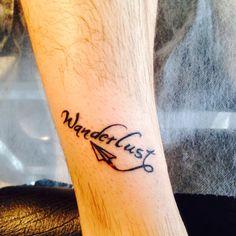 #wanderlust #tattoo #leg